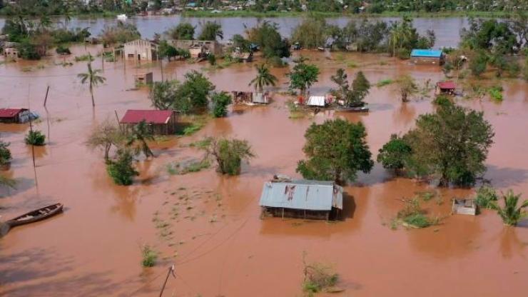 Après le passage du cyclone Eloïse, au Mozambique, le 24 janvier 2021.