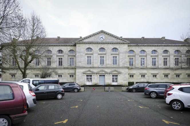 The former military barracks of Libourne, January 13, 2021.