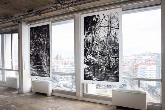 Poush Manifesto, «incubateur d'artistes», fleurit en temps de pandémie
