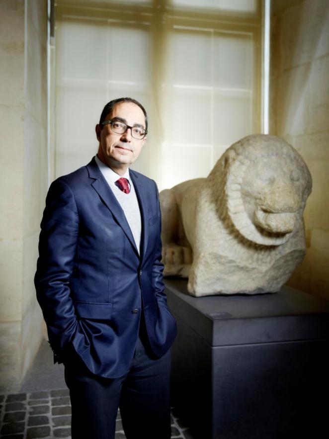 Jean-Luc Martinez, président-directeur, en décembre 2016, au Musée du Louvre, à Paris.