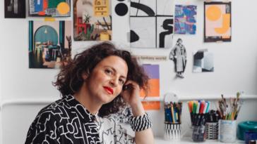 L'artiste-designer Camille Walala réenchante les quartiers de Londres