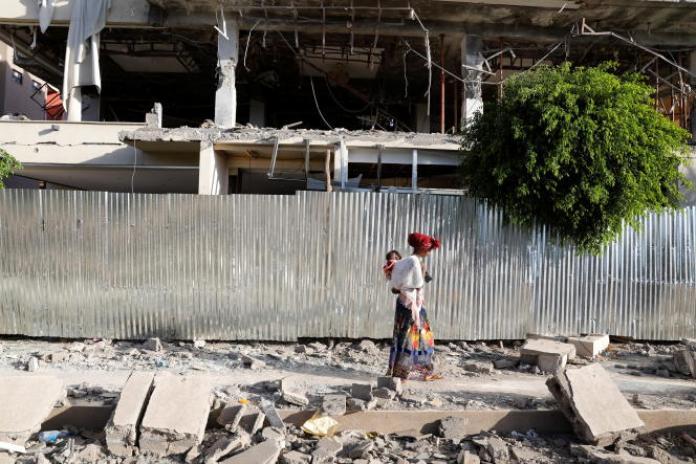 Dans la ville de Shire, au Tigré, le 17mars 2021.