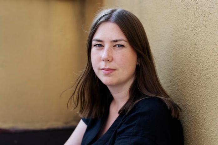 Astrid Hoem, présidente de la Ligue des jeunes travaillistes (AUF), le 20juillet 2021, à Oslo.