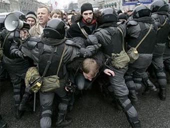 Дума предлагает сажать за демонстрации