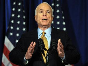 Американский сенатор Джон Маккейн назвал территории Грузии оккупированными