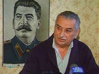 Евгений Джугашвили. Кадр телеканала НТВ, архив