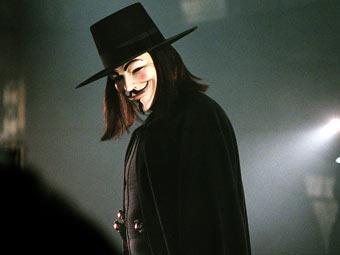 "Аноним из фильма ""V значит вендетта"""
