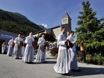 Монахи-капуцины в Швейцарии. Фото ©AFP