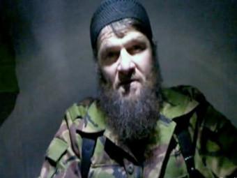 Кадр видеообращения Доку Умарова