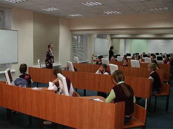 Занятие в московской школе. Фото с сайта ms45.edu.ru