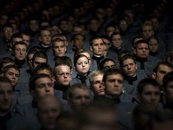 Курсанты военной академии в Вест-Пойнте. Фото ©AFP
