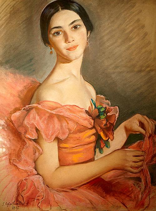 Балерината Л.А. Иванова