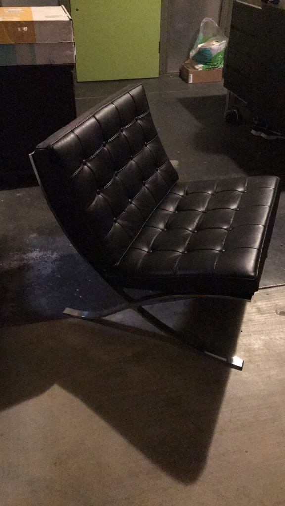 barcelona chair used anti gravity table for sale in sunnyvale letgo