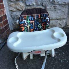 Fisher Price Space Saver Chair Memory Foam Office Cushion Used Feeding For Sale In Allen Letgo