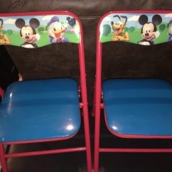 Folding Chair For Toddler Garden Swing Singapore Used Disney Mickey Mouse Clubhouse Activity Chairs Kid Toy