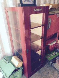 Used Snap On Curio cabinet in Benicia