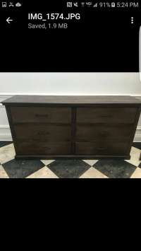 Used Oversized Chest of Drawers in Dallas