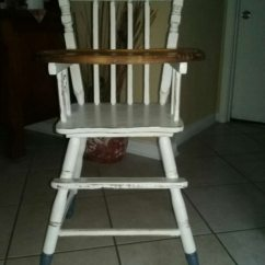 Vintage Wooden High Chair Allsteel Access Used For Sale In Slidell Letgo
