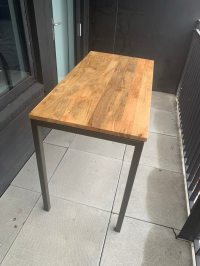 Used West Elm Box Frame Counter/Dining Table - Wood for ...
