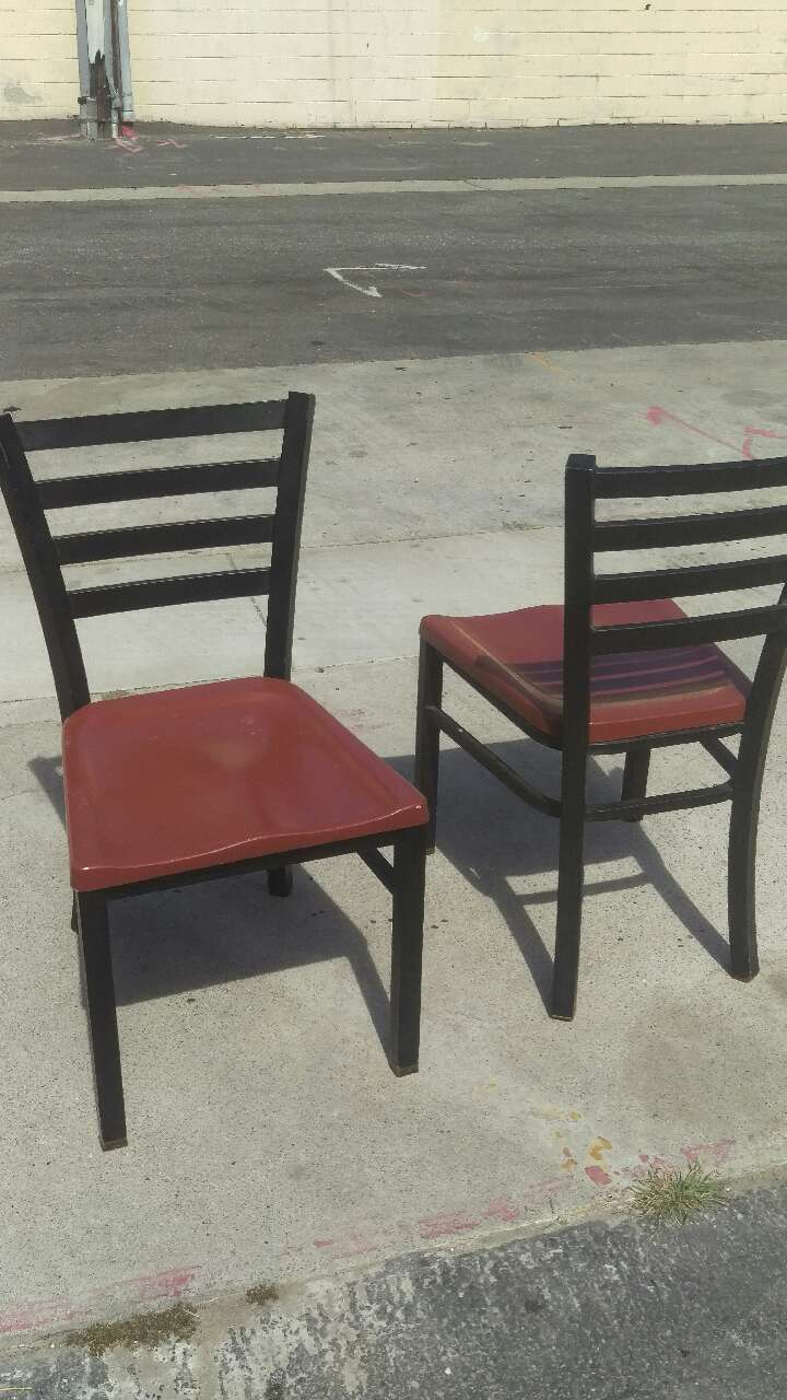 used restaurant chairs posture kneeling chair amazon 6 for sale in culver city letgo
