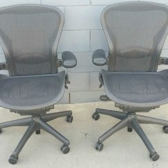 Aeron Chair Sale Used Covers For Near Me Herman Miller Chairs Size B Or Better Offer In Los Angeles Letgo