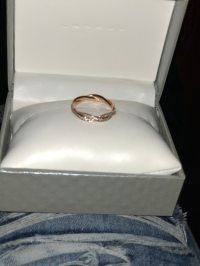 Used Twist of fate (pandora rose ring) for sale in Raleigh ...
