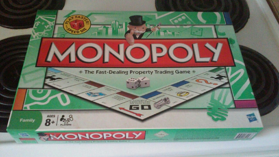 Used Monopoly Board Game Box For Sale In Jacksonville Letgo