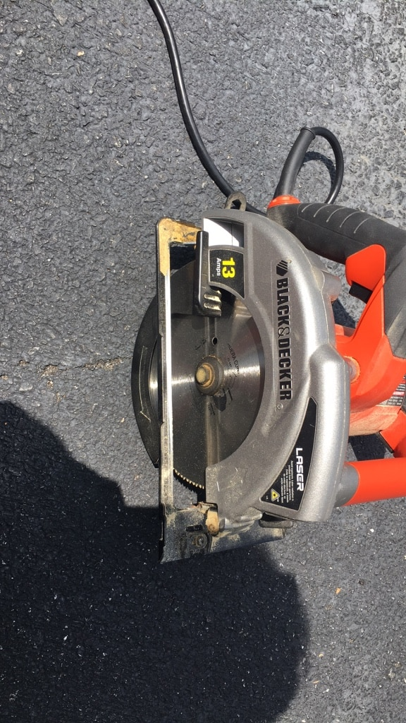 Black And Decker Electric Saw