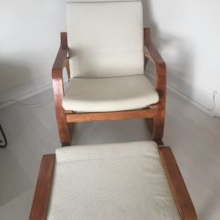 Ikea Arm Chairs Folding Chair Nairobi Used 2 Armchairs And A Footstool For Sale In Londra Letgo