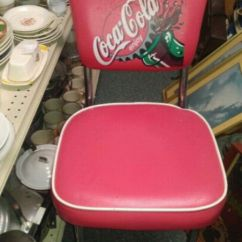 Coca Cola Chairs And Tables Building A Chair Used Red Gray For Sale In Unadilla Letgo