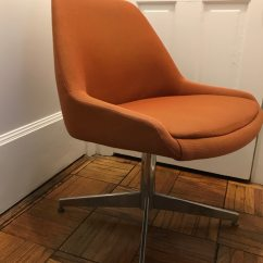 Steelcase Vintage Chair Modern Rocking For Nursery Used Rust Orange Model 450 Mid Century Mcm Sale In Silver Spring Letgo