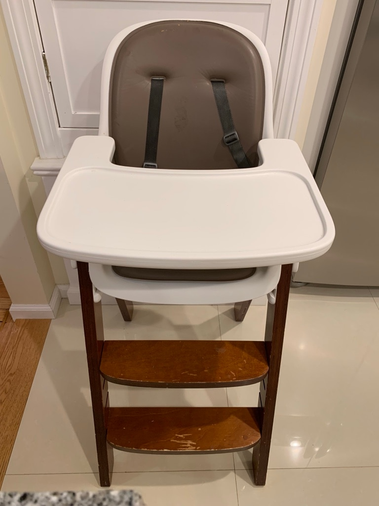 oxo high chair fishing feeder used for sale in riverside letgo