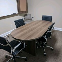 Used Conference Room Chairs Cheap Chair Covers And Sashes Rental Mid Back Black Chrome For Sale In