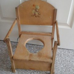 Wooden Potty Chair Heavy Duty Desk Used Brown Or Plant Holder For Sale In Essex Letgo