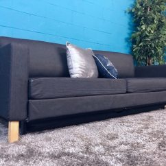 Sleeper Sofas Atlanta West Elm Henry Sofa Ikea Blue Trundle Free Delivery Usati In Vendita A