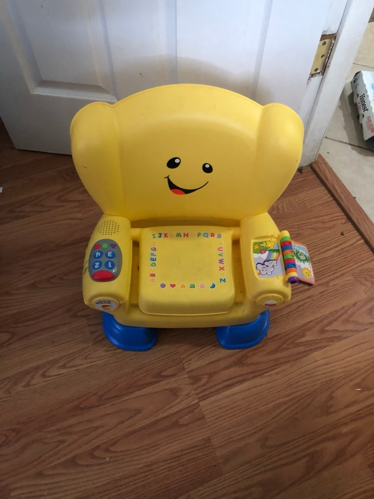 fisher price sit and play chair wood bar chairs used for sale in elizabeth letgo