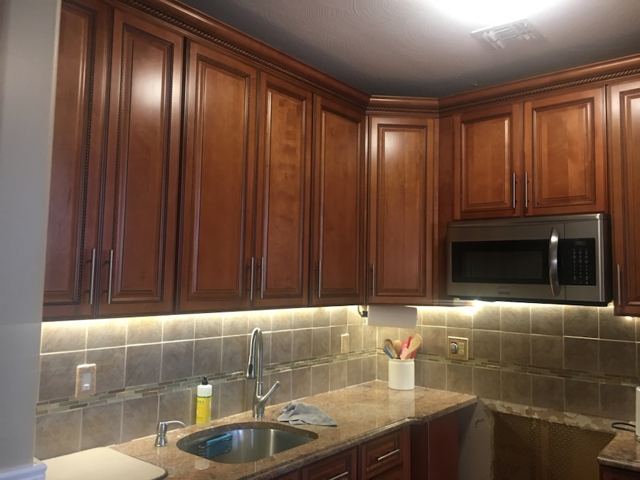 upper kitchen cabinets new gadgets used maple wood for sale in york letgo