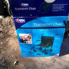 Carex Transport Chair Collapsible Dining Table And Chairs Used For Sale In Albertville Letgo