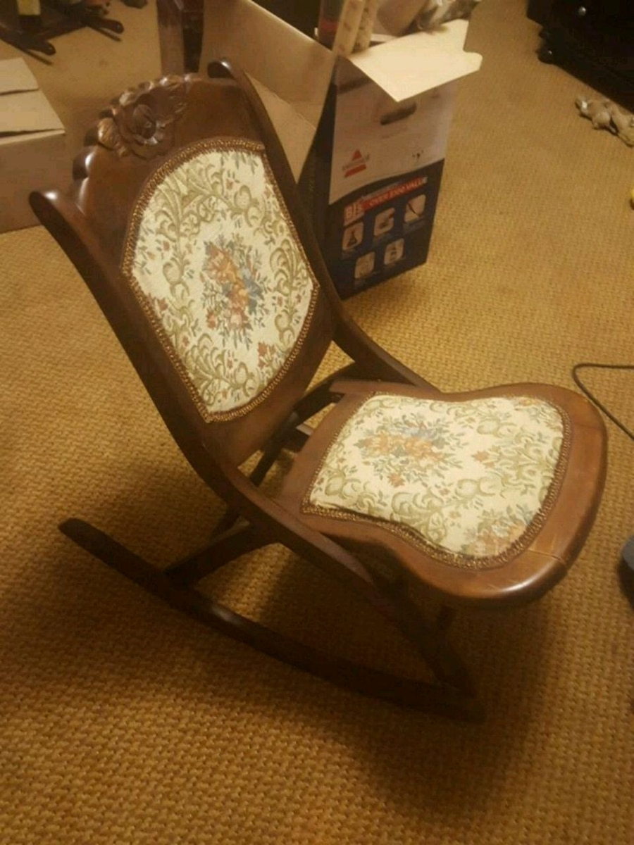antique sewing chair wood adirondack used for sale in netcong letgo