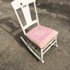 White Rocking Chairs For Sale Hammock Chair Stand Diy Used In Alpharetta Letgo