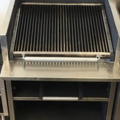 Magic Kitchen Grill Island Pendants Used 30 Char With Melter For Sale In Farmingdale
