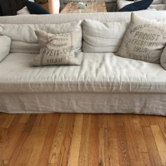 Belgian Linen Sofa Simmons Upholstery Panama Hide A Bed Used Rh For Sale In New York Letgo