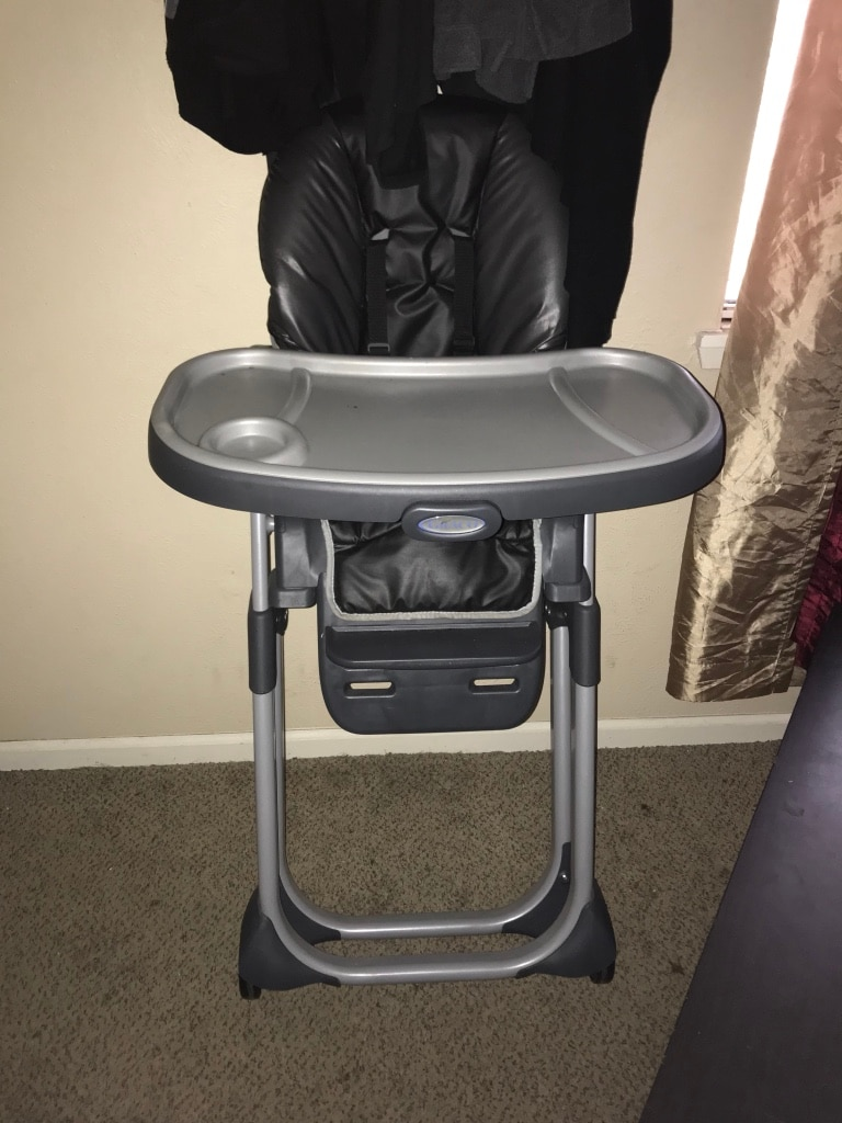graco duodiner lx high chair what are wwe chairs made of used for sale in houston letgo