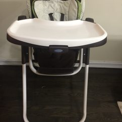 Graco Slim Spaces High Chair Ergonomic Vienna Used For Sale In New York Letgo 1 3