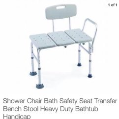 Difference Between Shower Chair And Tub Transfer Bench Marble Top Table With 4 Chairs Used Bath Safety Seat Stool Heavy Duty Bathtub Handicap For Sale In North Myrtle Beach Letgo