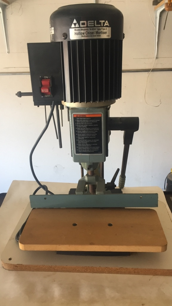 Hollow Chisel Mortiser Used
