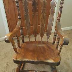 Antique Wooden Rocking Chairs Best Nursing Chair Used Sk 50 Obo For Sale In Glen