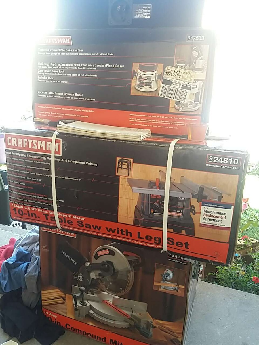 Craftsman 10 Table Saw