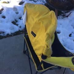 Folding Chair Emoji Back Support Office Used Yellow Camping For Sale In Ogden Letgo 1 3