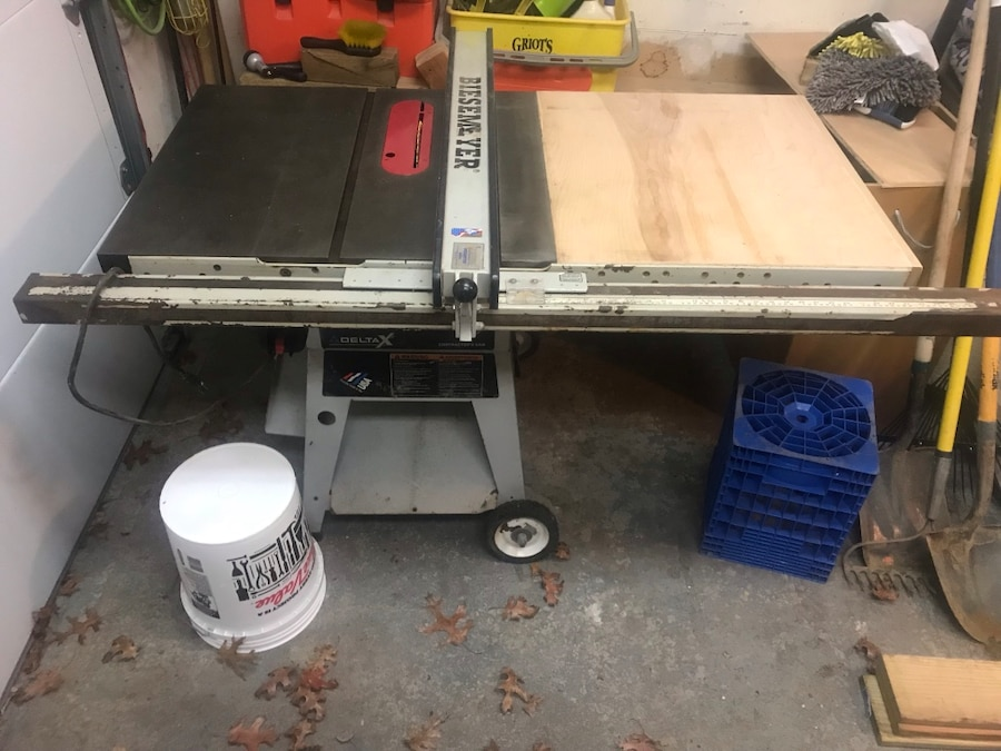 Delta X5 Table Saw